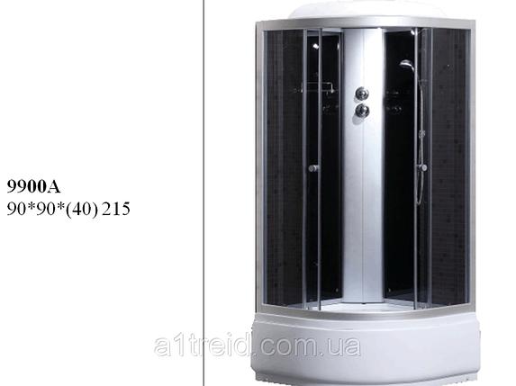 Гидробокс (душевая кабина) Sansa (Санса) 9900A (0,9*0,9*2,15), фото 2