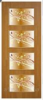Двери межкомнатные с фотопечатью на стекле Альта 3 фп