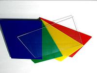 Поликарбонат монолитный Plexicarb 2мм Польша Разные цвета
