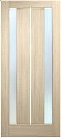 Двери ламинированные ПВХ Стелла стекло сатин