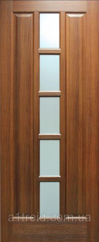 Межкомнатные двери МДФ ламинированные ПВХ Квадрат ПО