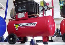 Компрессор Forte FL 24 поршневой  (1,5 кВт , 200 л/мин, 24 л)