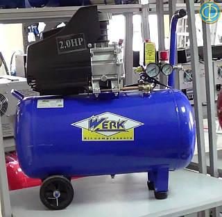 Воздушный компрессор Werk BM 50 (200 л/мин., ресивер 50 л)