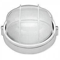 Светильник влагостойкий с решёткой MIF 012 60W (белый, чёрный)