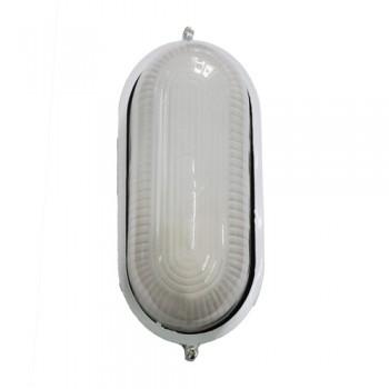 Светильник влагостойкий MIF 020 60W (белый, чёрный) овал