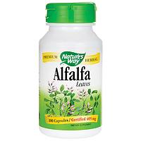 Препарат для крови и сосудов - Альфальфа / Alfalfa / Люцерна, 405 мг 100 капсул