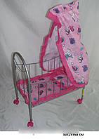 Игрушечная кроватка с балдахином для куклы, Melobo 9394 SR
