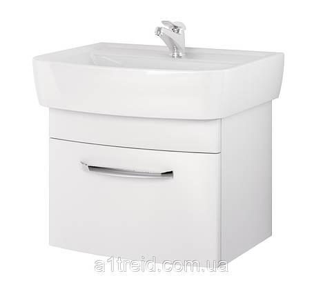 Шкафчик Pure 60 (белый)Церсанит, фото 2
