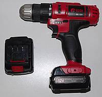 Edon-Redbo CF-1205 аккумуляторный шуруповерт (12В, подсветка, реверс)