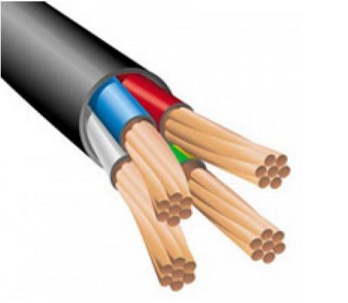 Силовой кабель ВВГ 3х4+1х2.5, фото 2
