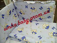 Защита в кроватку для новорожденных