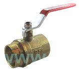 Кран шаровый для воды 32мм ВН ручка, фото 2