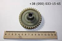 Шестеренка для электропилы ПШ4 D=74 мм, H=33 мм,  d=10 мм.
