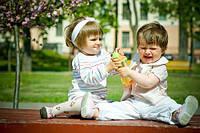 Двухлетний малыш и его общение с ровесниками.