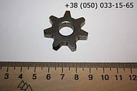 Звездочка к электропиле ЗВ-2 D=35 мм, H=7 мм, d=12 мм.