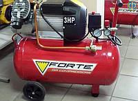 Компрессор двухцилиндровый Forte VFL 50 (420 л/мин, 50 л.)