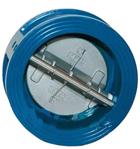 Клапан обратный межфланцевый 2-створ. 65мм РУ 16, фото 2