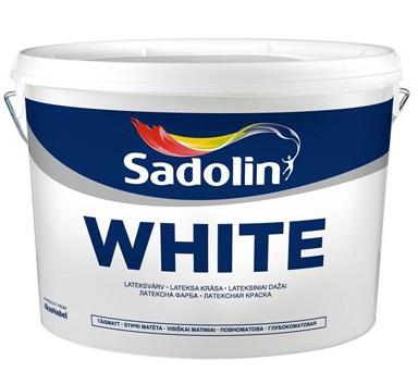 Sadolin White, 10 л (Садолин Белый), фото 2