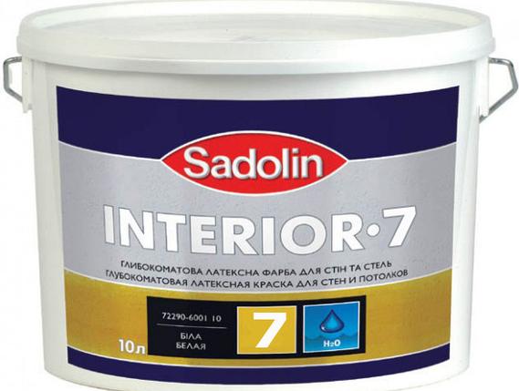 Sadolin Interior 7, 10 л ( Садолин Интериор 7), фото 2