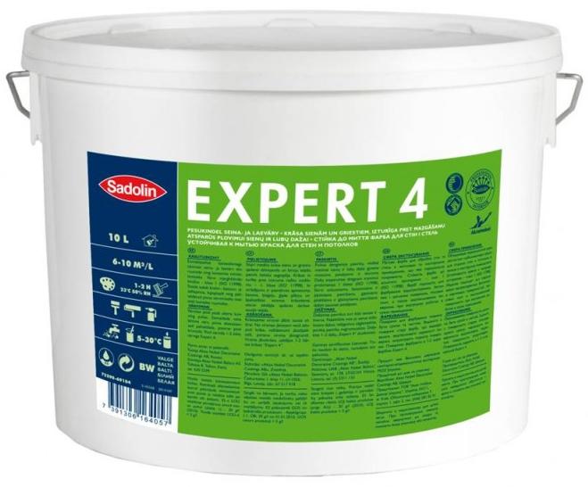 Sadolin Expert 4 BW, 10л (Садолин Експерт 4)