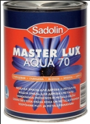 SADOLIN Master Lux Aqua 70, 3х1л (Садолин Мастер Люкс Аква 70), фото 2