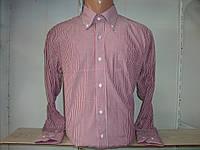 Классическая мужская рубашка с длинным рукавом в полоску Secolo Рубашка, XL