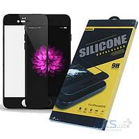 Защитное стекло Remax Silicone 3D Full Cover Apple iPhone 6, iPhone 6S Black