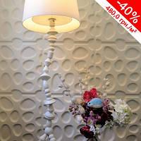 Декоративная стеновая панель 3D Кругляк