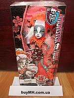 Кукла Мяулодия Монстры на отдыхе Monster High Ghouls' Getaway Meowledy