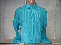 Классическая мужская рубашка с длинным рукавом Secolo Рубашка, M