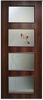 Двери межкомнатные с контурным рисунком Альта 3