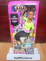 Кукла Барби Фитнес желтый топ Barbie Made to Move Barbie двигайся как я, фото 1