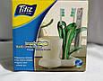 Подставка для зубных щеток и пасты Titiz Plastik, фото 4