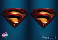 Обложка на паспорт Супермена