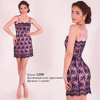 Женское короткое вечернее платье