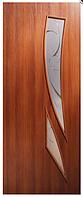 Двери межкомнатные ПВХ с фотопечатью на стекле Фиеста