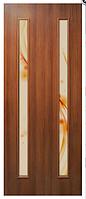 Полотно дверное Вероника ПВХ с фотопечатью на стекле