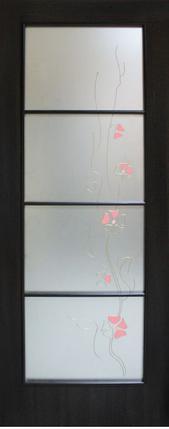 Двери межкомнатные с контурным рисунком Альта 4, фото 2