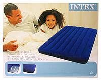 Полуторный надувной матрас Intex Classic Downy Bed 68758, фото 1