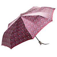 Зонт женский Doppler 74665GFGG18-7 полный автомат Бордовый