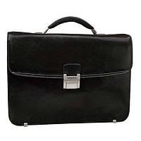 Мужской портфель кожаный Verus V39871A Черный