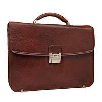 Мужской портфель кожаный Verus 39871 Коричневый