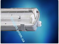 Люминисцентный светильник IP-65 ЛПП 2х36(электронный)