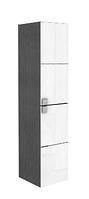 Шкафчик боковой высокий серый орех Primo Kolo Примо Коло