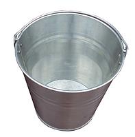 Оцинкованное ведро 12 литров, МИНИМАЛЬНО 3 шт