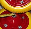 Полиуретановое колесо 3.00-8 для тачки (бескамерка)