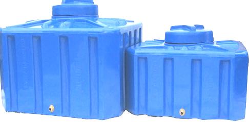 Емкость квадратная 300 литров (88х88х53) 2-слойная, фото 2