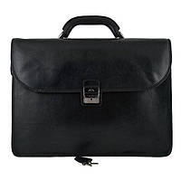 Портфель мужской кожаный Tony Perotti 8011-44-it Чёрный