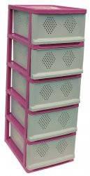 Классический комод, шкаф для посуды розовый, фото 2