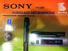 Радио микрофон sony sm-288 двойной
